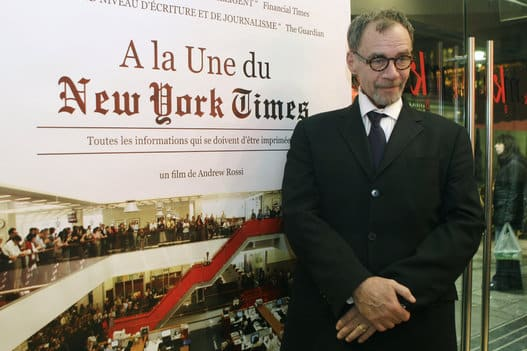 David Carr New York Times Media Columnist died