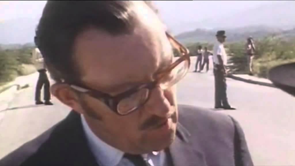 ITV News report on death of Alan Whicker who died today 12th July 2013 36