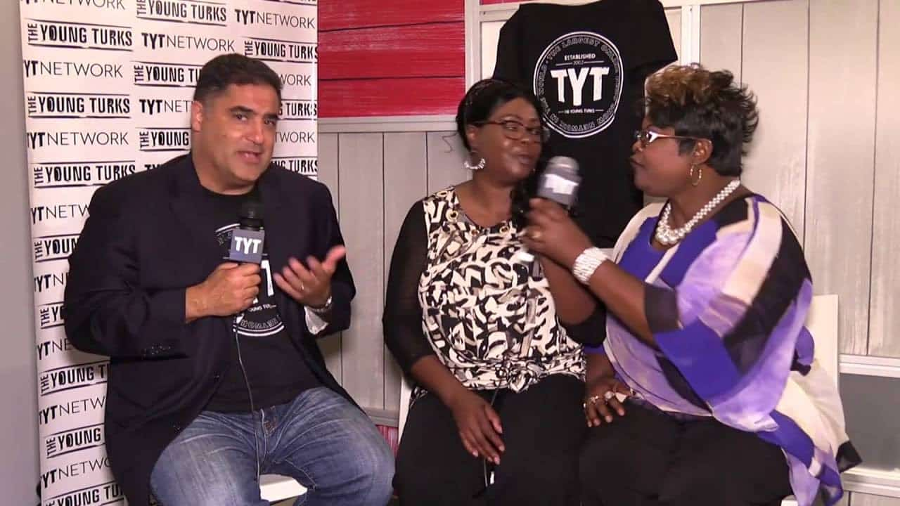 Diamond And Silk Interview With Cenk Uygur At 2016 RNC 9