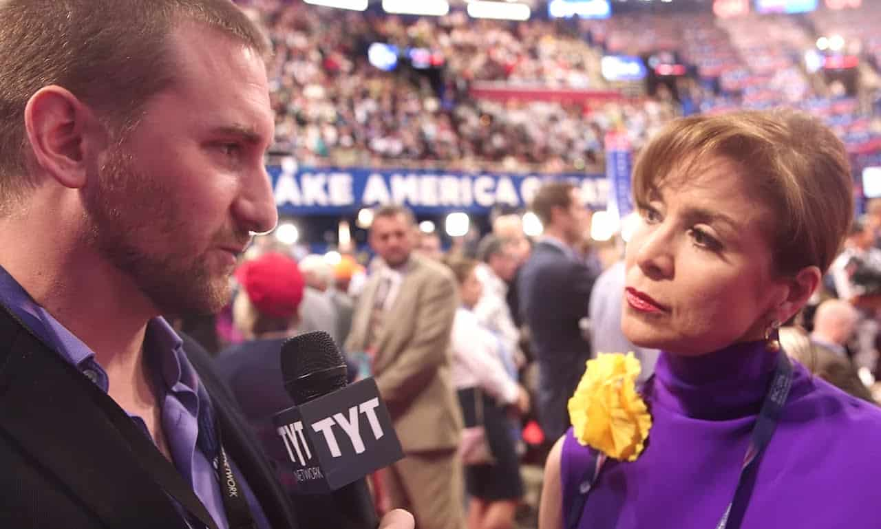 John Iadarola Interviews Delegates From The Floor Of The 2016 RNC 24