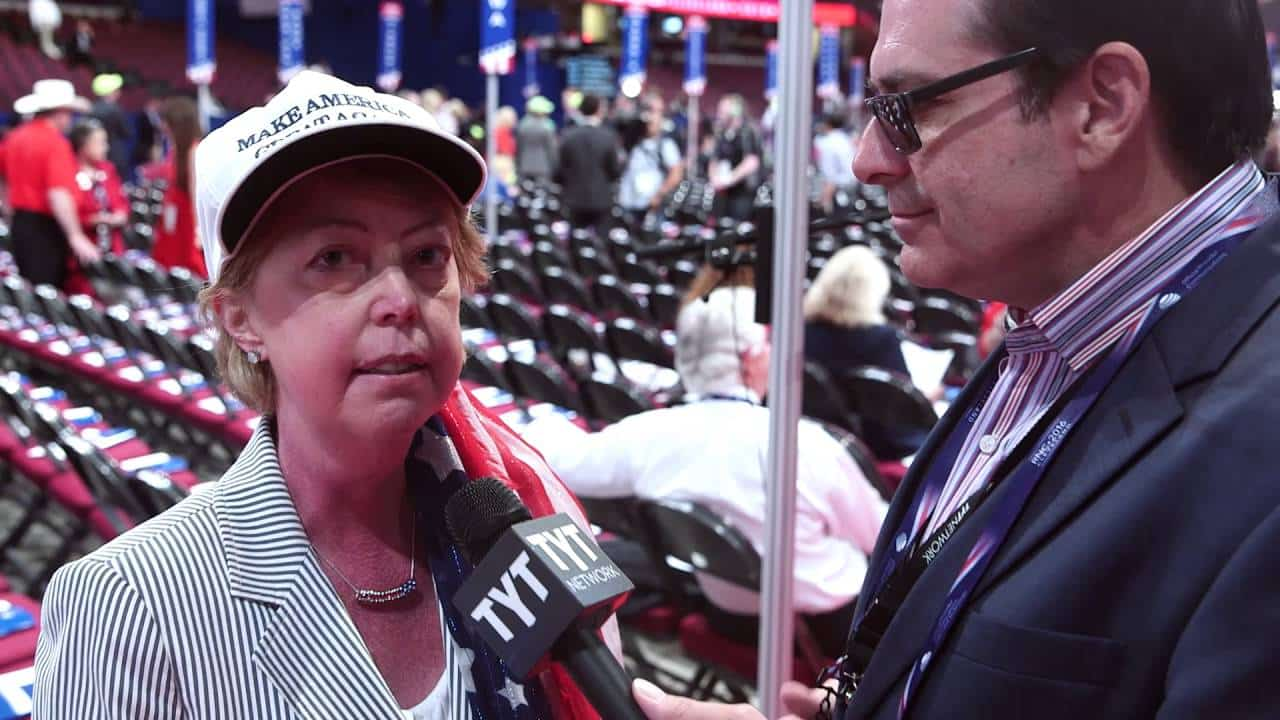 John Iadarola Interviews Delegates From The Floor Of The 2016 RNC 3