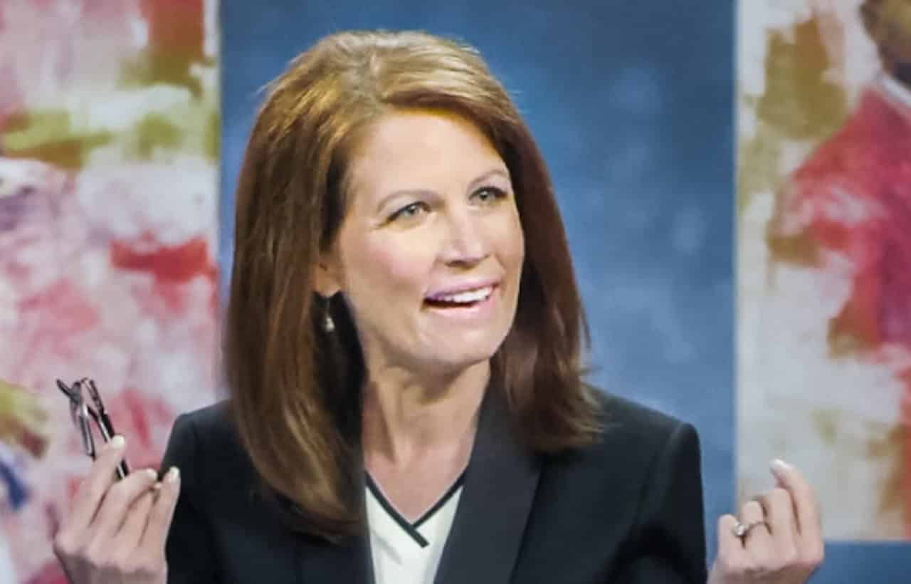 Bachman Desperately Tries Selling Trump To Evangelicals 4