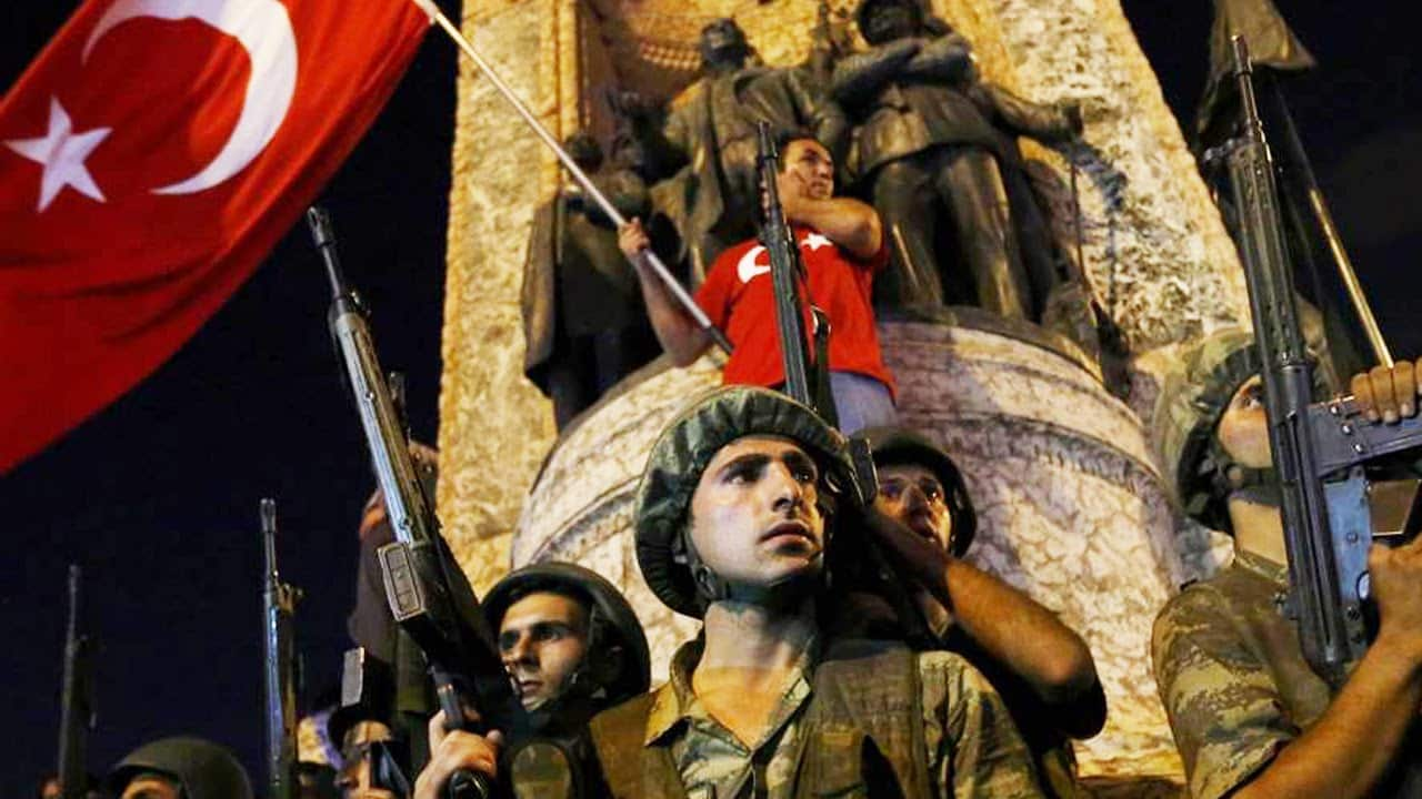BREAKING: Turkish Military Attempted Coup To Overthrow Government 19
