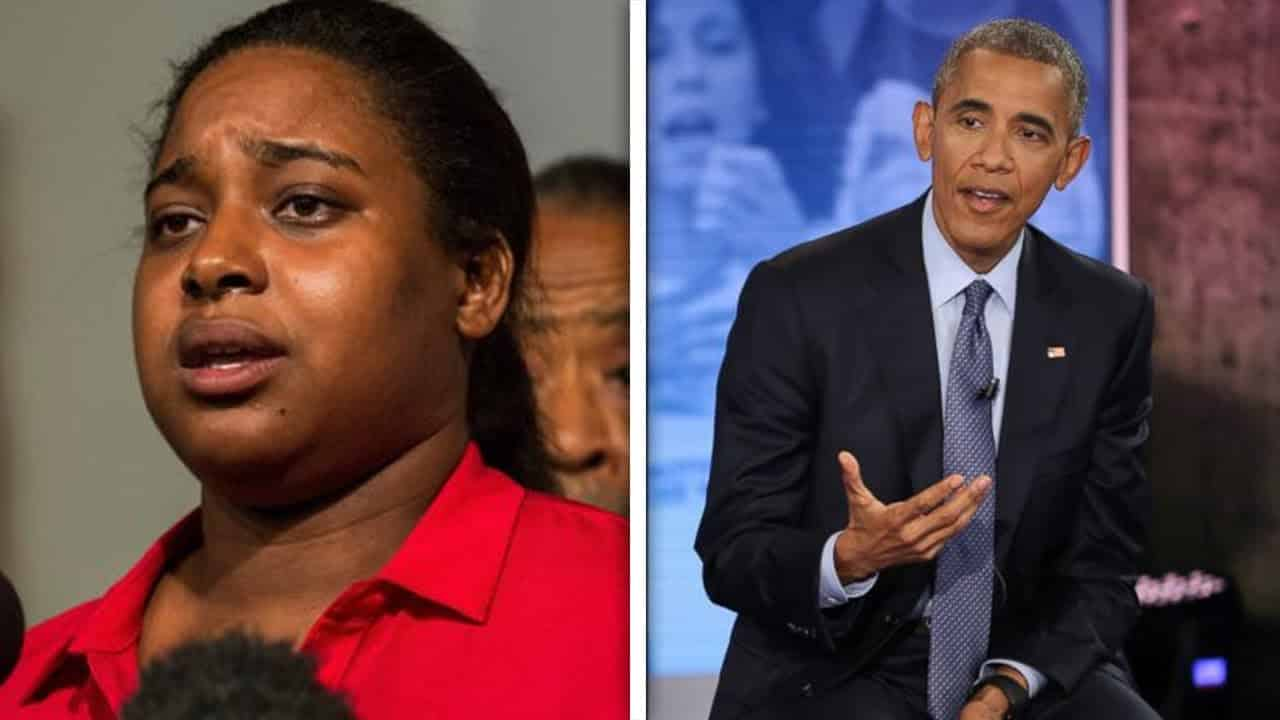 "Eric Garner's Daughter Felt ""Railroaded"" During Obama Town Hall 7"