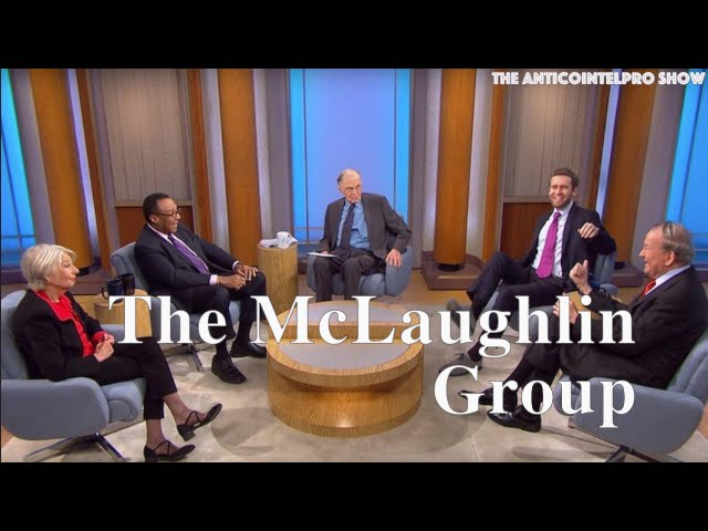 John McLaughlin dead at 89, hosted 'The McLaughlin Group' since 1982 22