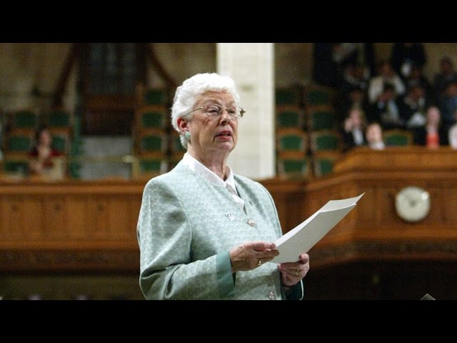'Practical politician:' Former N.B. MP Elsie Wayne dead 17