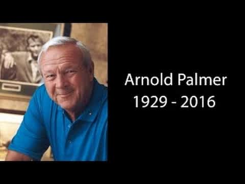 Arnold Palmer Dead At Age 87! Arnold Palmer Tribute Video 33