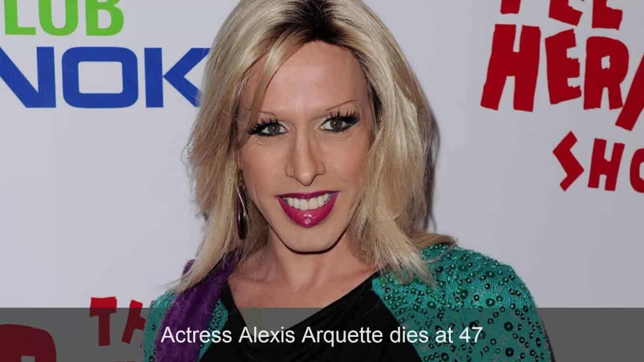 Actress Alexis Arquette dies at 47 6