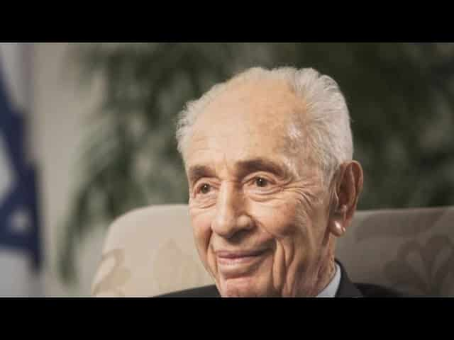 "Shimon Peres hailed as ""a soldier for Israel"" 18"