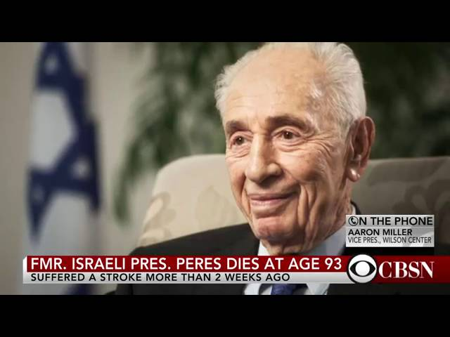 Legacy of former Israeli President Shimon Peres 5