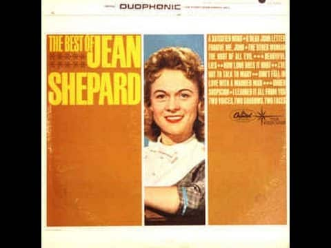 Jean Shepard - **TRIBUTE** - I've Got To Talk To Mary (1961). 22