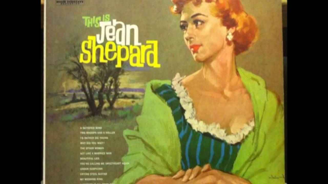 Jean Shepard - **TRIBUTE** - I've Got To Talk To Mary (1961). 3
