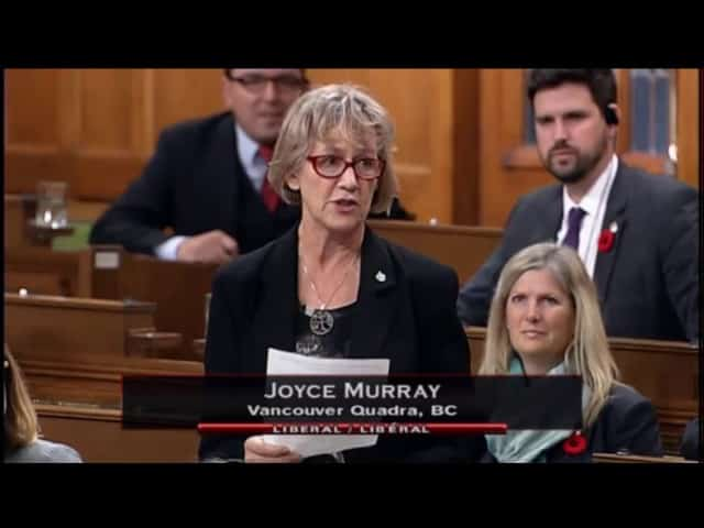 MP Joyce Murray, Statement on Jim Prentice 56