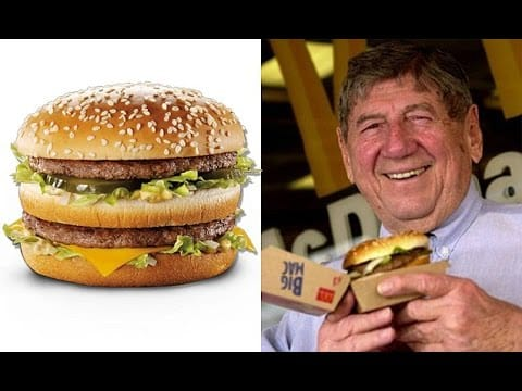 RIP - The man who created the Big Mac dies aged 98 22