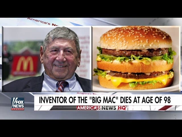 Creator of the Big Mac dies at age of 98 20