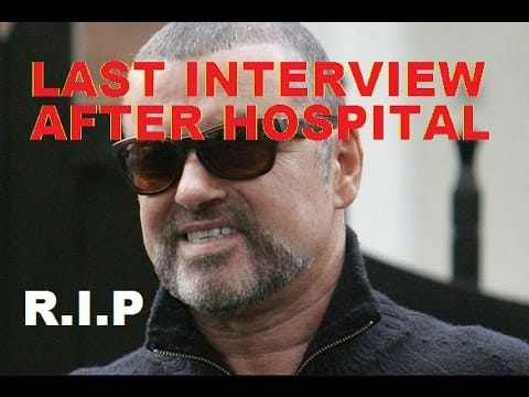 George Michael dies aged 53 - Last interview filmed on video after hospital release 25