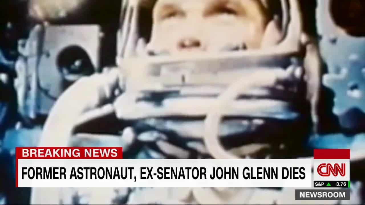 Former senator, astronaut John Glenn dies at 95 16