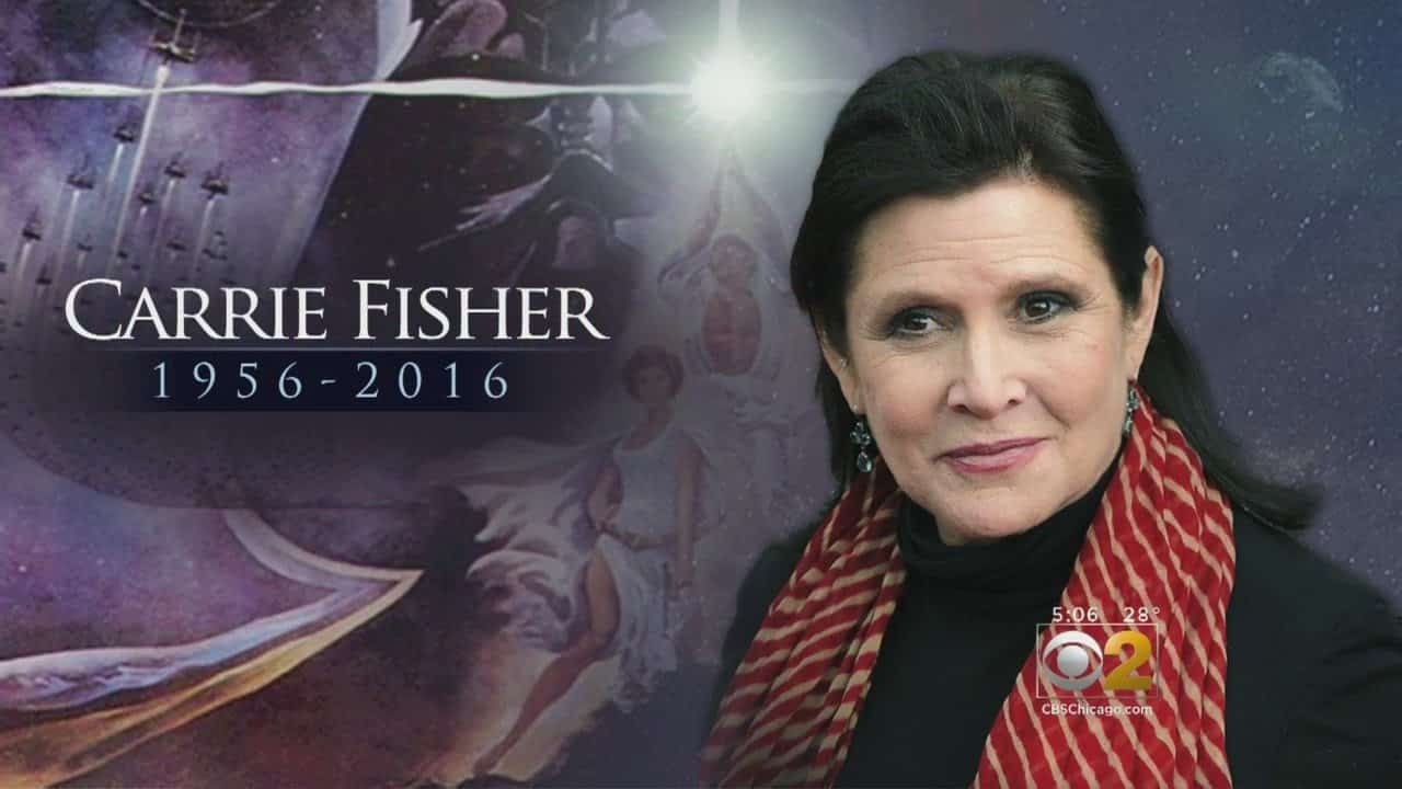 Star Wars Actress, Carrie Fisher, Dies At Age 60 26