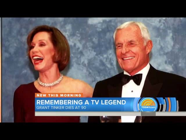Grant Tinker former CEO of NBC dies at age 90 51