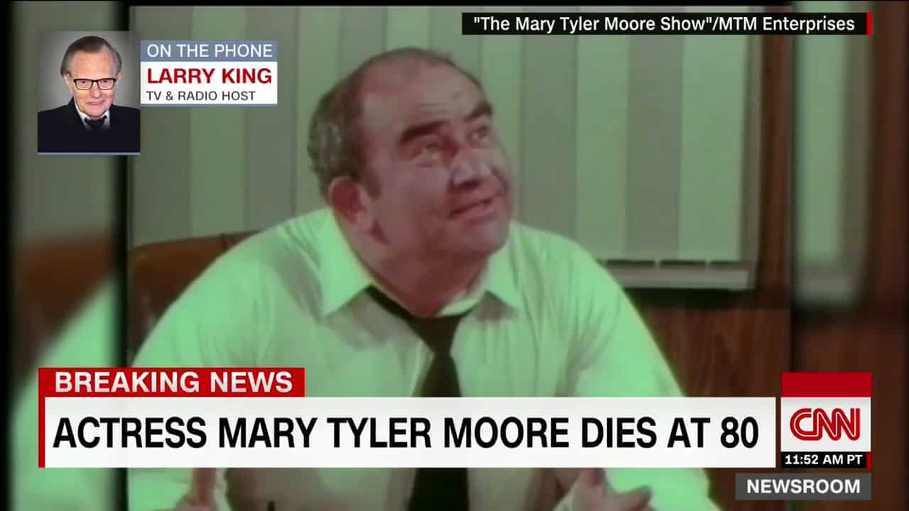 Larry King׃ Mary Tyler Moore was a pioneer 52