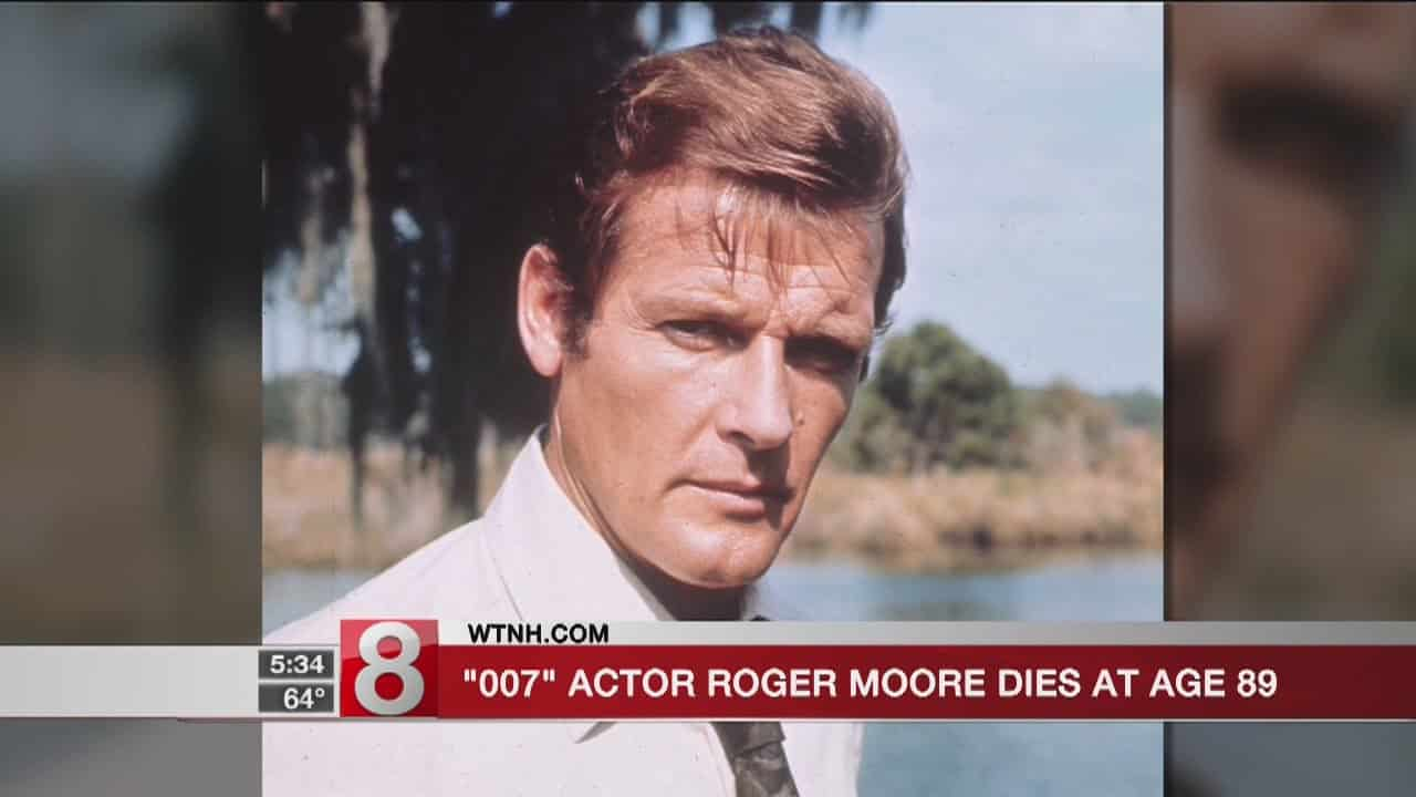 '007' actor Roger Moore dies at 89 6