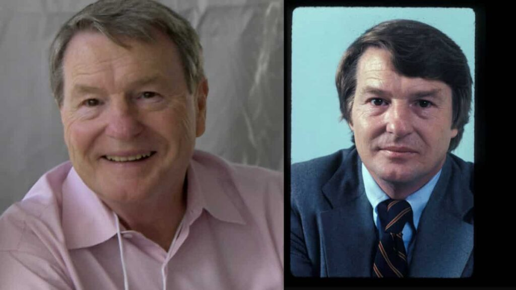 Jim Lehrer, for 36 years