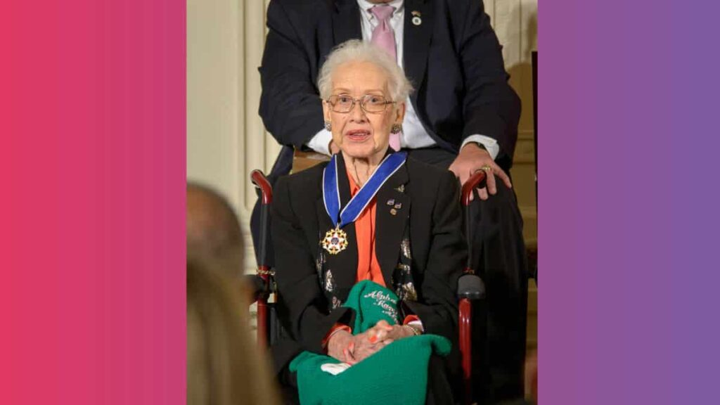 101-year-old Katherine Johnson