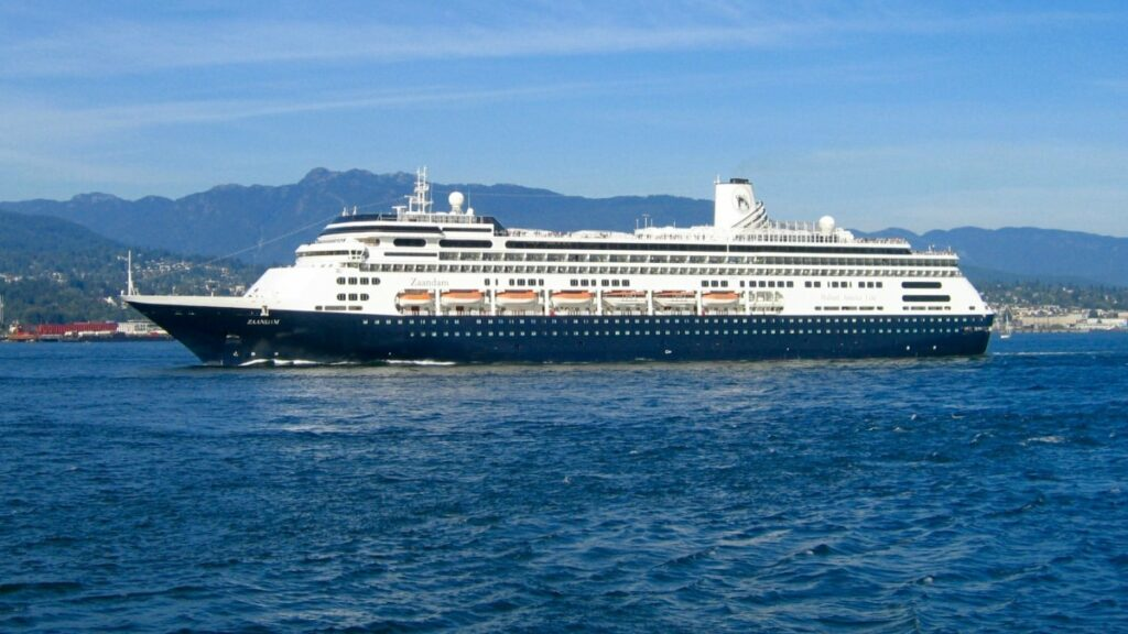 247 canadians stranded on Holland America cruise line