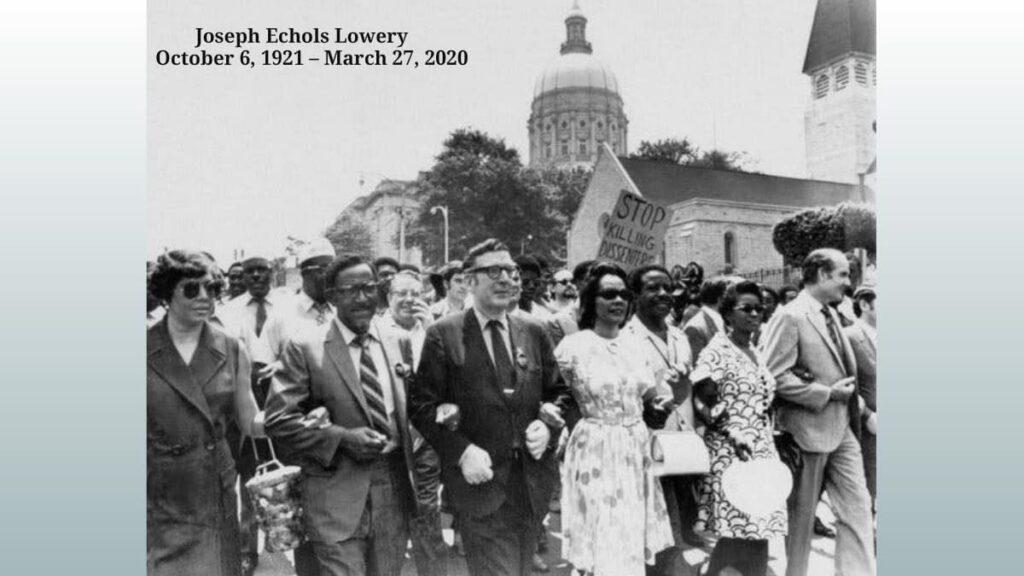 Civil rights icon Rev. Joseph E. Lowery is dead at 98