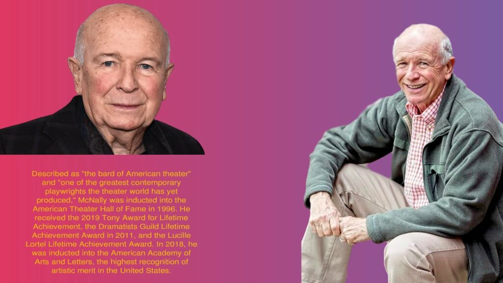 Playwright Terrence McNally 81 is dead from coronavirus-related complications